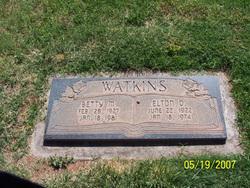 Betty Mae <I>Carlisle</I> Watkins