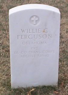 Willie G Ferguson