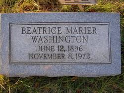 Beatrice Marier <I>Allen</I> Washington