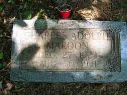 Charles Adolph Maroon