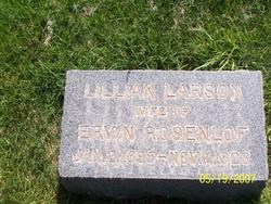 Lillian <I>Larson</I> Rosenlof