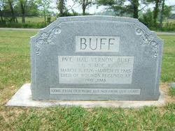 Pvt Hal Vernon Buff