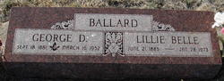 Lillie Belle <I>Gastineau</I> Ballard