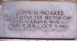John Hubbard Noakes