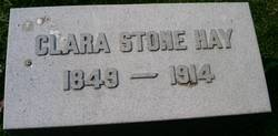 Clara <I>Stone</I> Hay