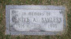 Gladys Genive <I>Allen</I> Bayless