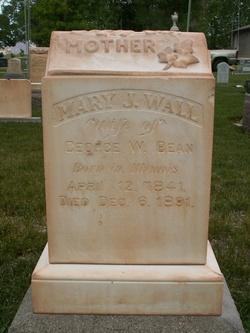 Mary Jane <I>Wall</I> Bean