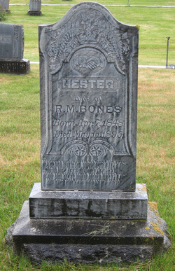 Hester Francis <I>Garrison</I> Bones