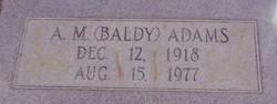 A. M. Baldy Adams
