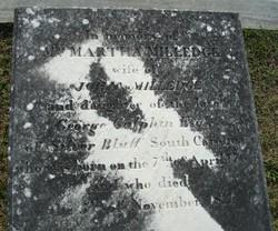 Martha <I>Galphin</I> Milledge