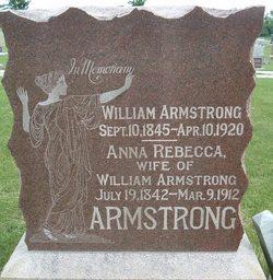 Mrs Anna Rebecca <I>Housley</I> Armstrong
