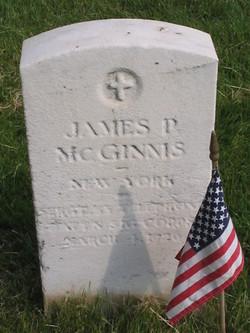 James P McGinnis