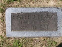 Edward W Bevans