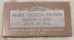 Mary Ogden Brown