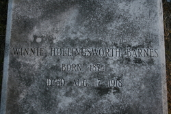 Winnie <I>Hollingsworth</I> Barnes