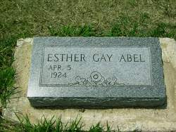 Esther Gay Abel