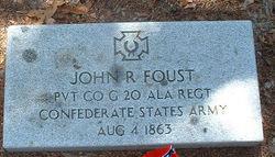 Pvt John Roe Foust