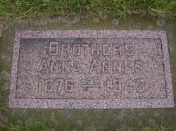 Anna Agnes <I>Cooney</I> Brothers