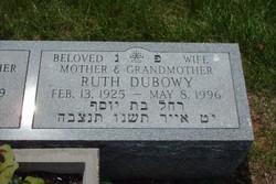 Ruth <I>Schwartz</I> Dubowy