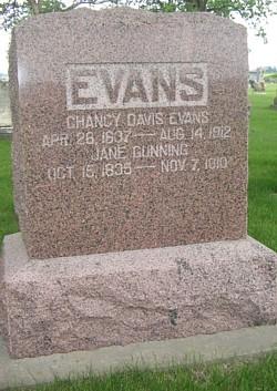 Chancy Davis Evans