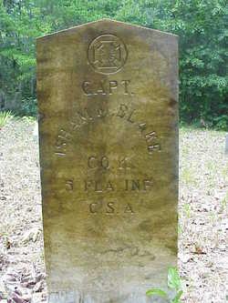 Capt Isham Miles Blake