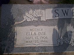 Edith Ella <I>Ivie</I> Sweat