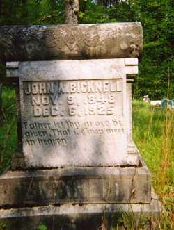 John Andrew Bicknell