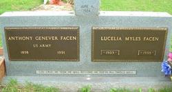 Lucelia <I>Myles</I> Facen
