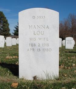 Hanna Lou <I>Nelson</I> Albers