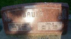 Carl Henry Bauer