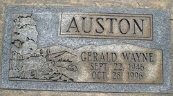 Gerald Wayne Ward Aka Auston