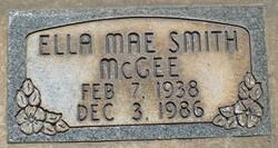 Ella Mae <I>Smith</I> Mcgee