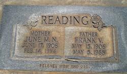 Frank Valoy Reading