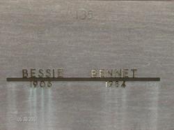 Bessie Bennett