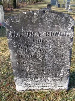 Pvt John Henry Bridwell