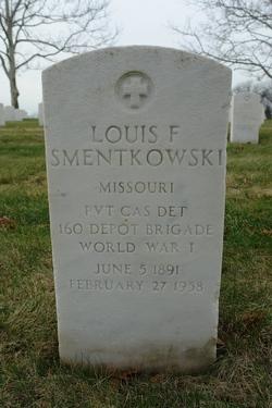 Louis F Smentkowski