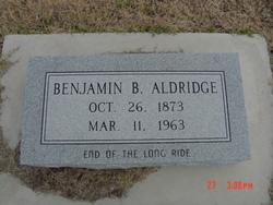 Benjamin Bedford Aldridge