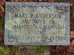 Mary Paulina <I>Knight</I> Anderson