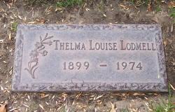 Thelma Louise <I>LeMeter</I> Lodmell