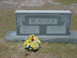 Bobbie <I>Sauls</I> Blalock