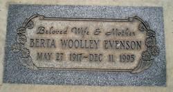 Berta Wooley Evenson