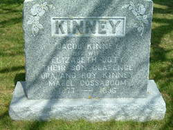 Elizabeth Ann <I>Doty</I> Kinney