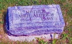"Abigail Agnes ""Abbie"" <I>Ford</I> Aldrich"