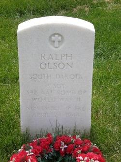 SSGT Ralph Olson