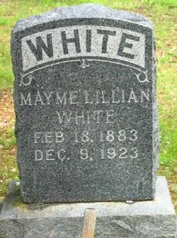 Mayme Lillian <I>Griffith</I> White