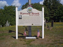 Rawson Brook Burial Ground