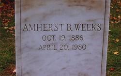 Amherst Barney Weeks