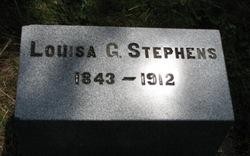 Louisa G. <I>Wright</I> Stephens