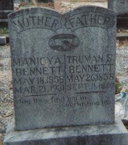 Manicy Ann (Anne) <I>Stewart</I> Bennett