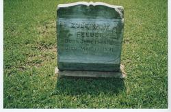 Zuleika Aseneth <I>Weems</I> Felder
